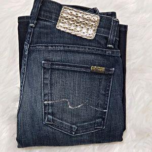 7 FAM high waist bootcut size 27